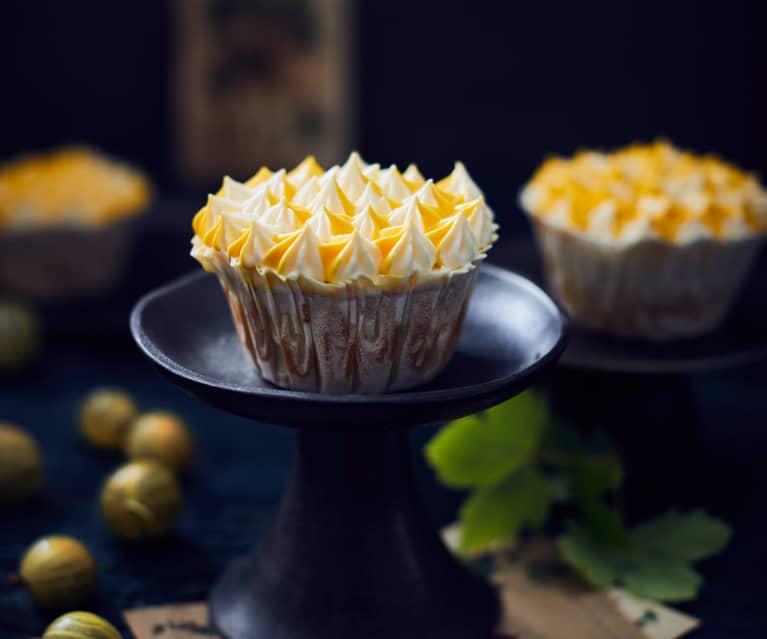 Stachelbeer-Cupcakes