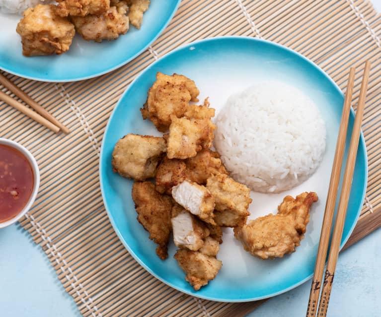 Kurczak w cieście kokosowym