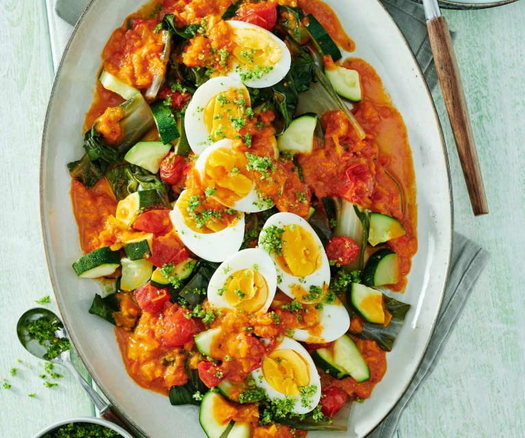Gemüse-Ei-Eintopf