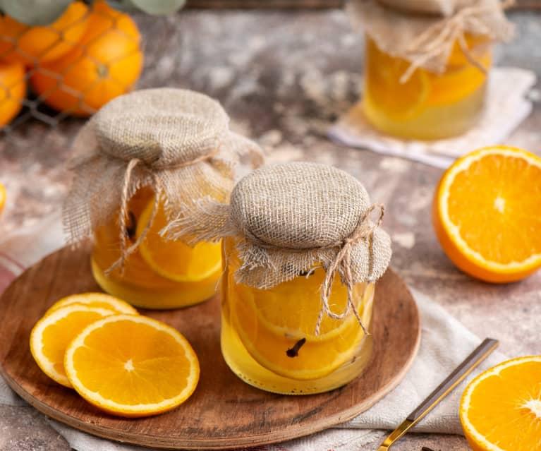 Pomarańcze w syropie goździkowym