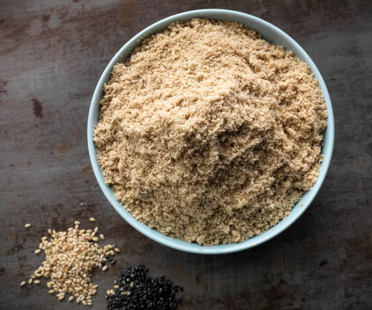 Semillas de ajonjolí finamente molidas (160-200 g)