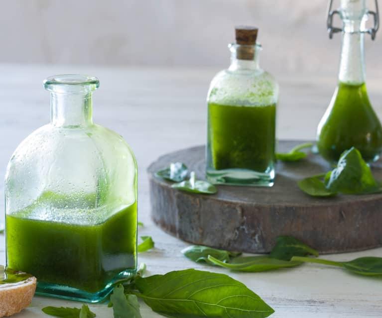 Aceites de hierbas frescas (de utilización inmediata)