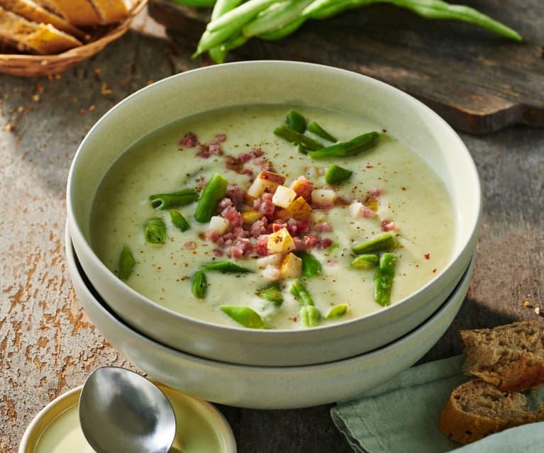 Birnen-Bohnen-Speck-Suppe
