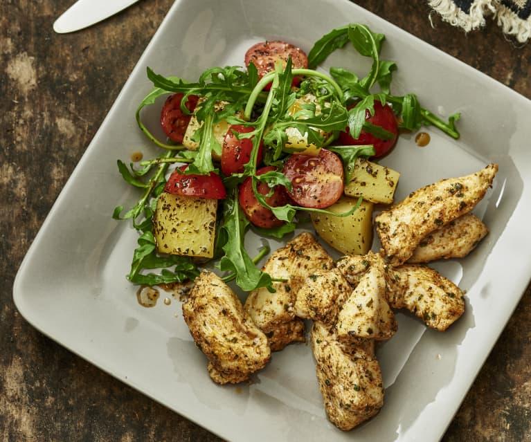 Chicken and Warm Potato Salad