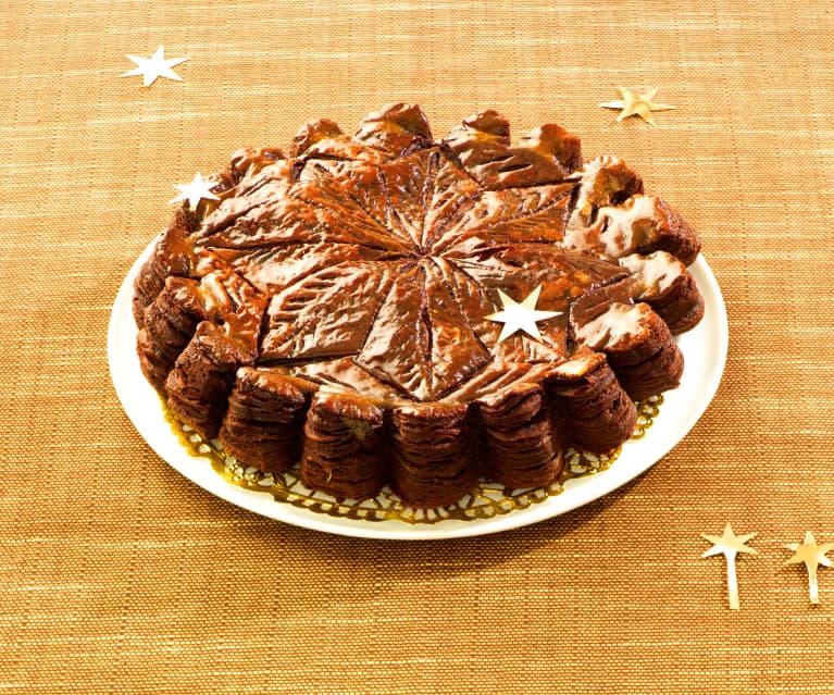Driekoningentaart 100% chocolade