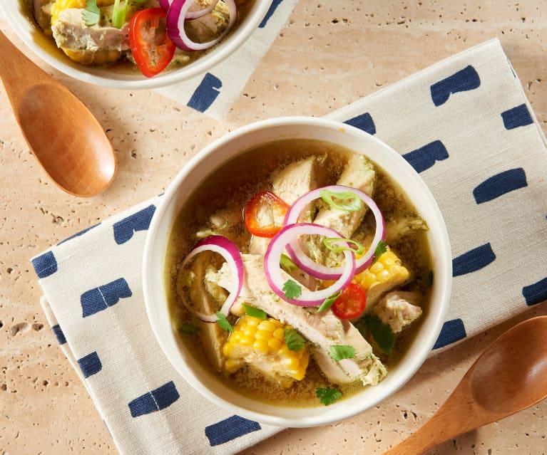 Lemongrass Chicken Soup Cookidoo The Official Thermomix Recipe Platform
