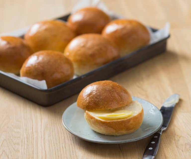 Brioche burger buns - Cookidoo® – the official Thermomix® recipe platform