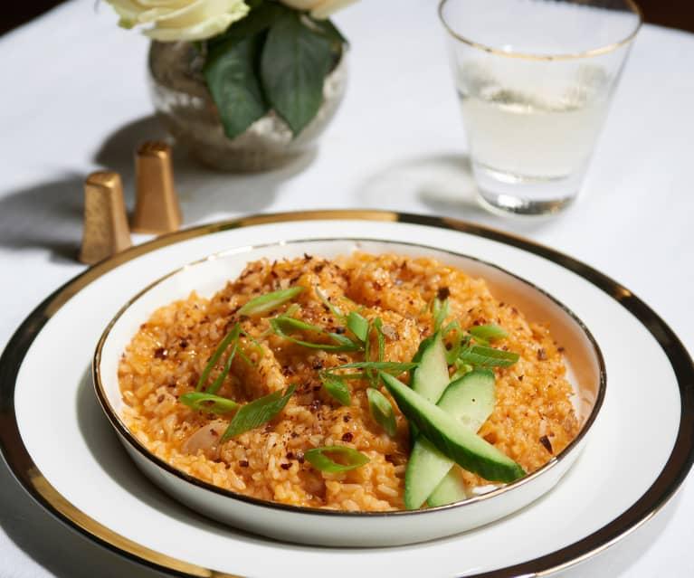 Kimchi Risotto