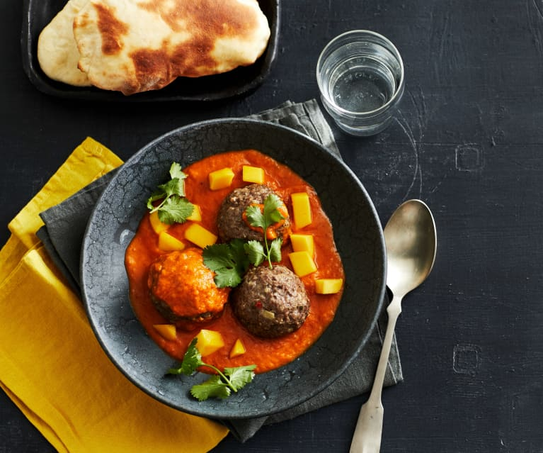 Klopse-Curry