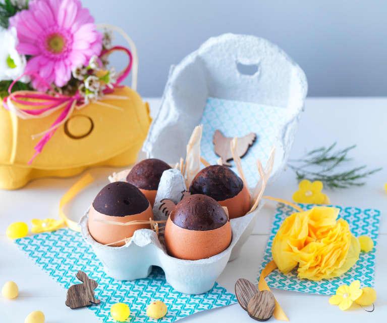 Œufs en chocolat de Pâques