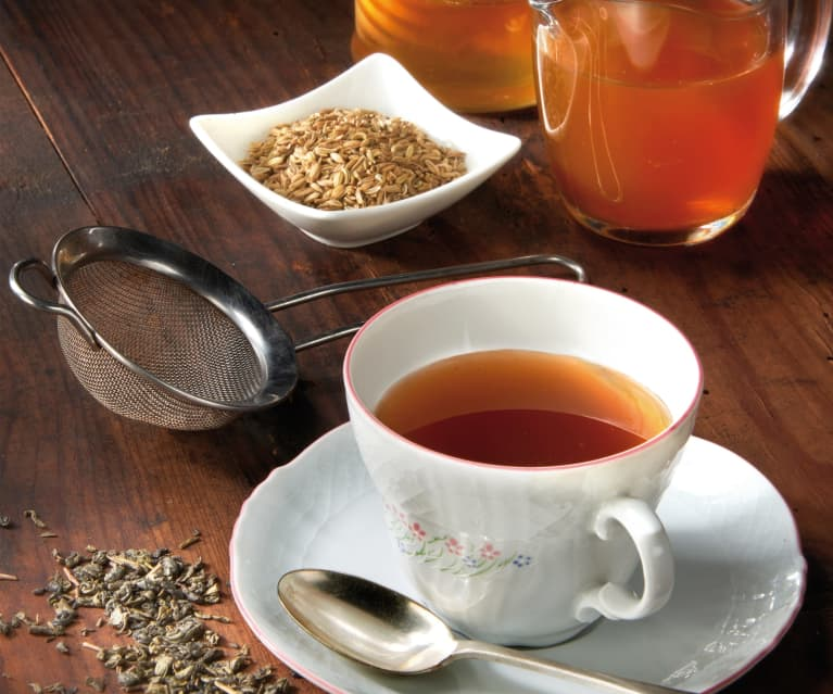 Tisana del mattino al tè verde