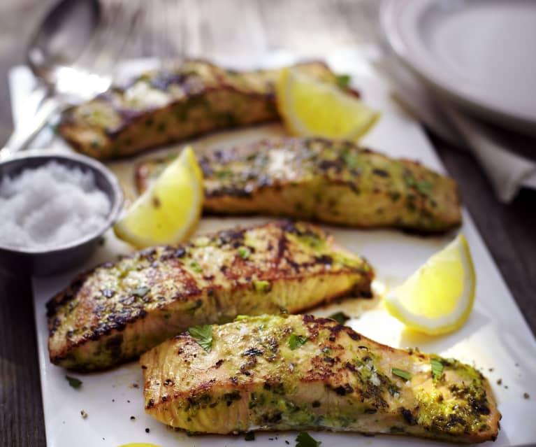 Zitronen-Knoblauch-Fisch