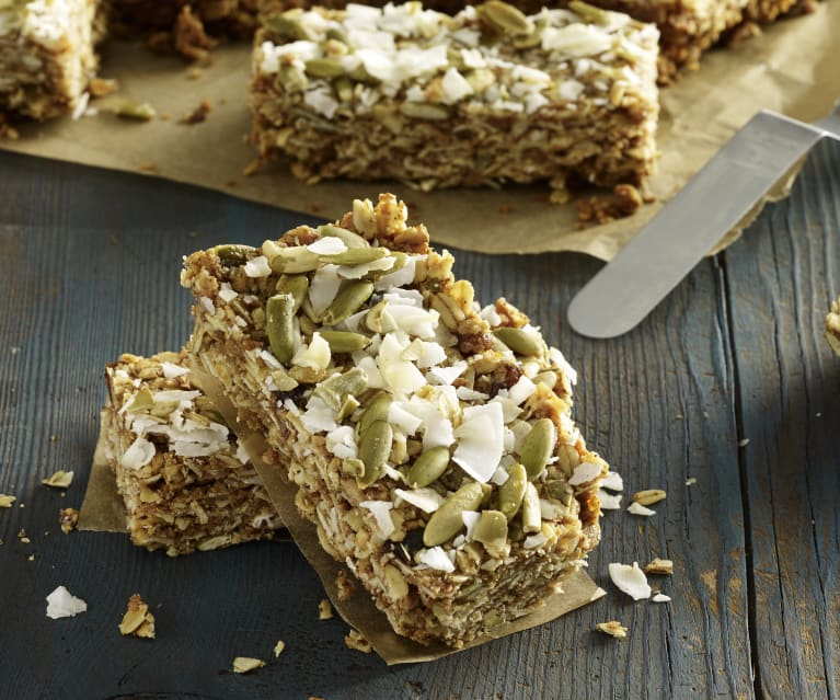 Pumpkin Muesli Bars