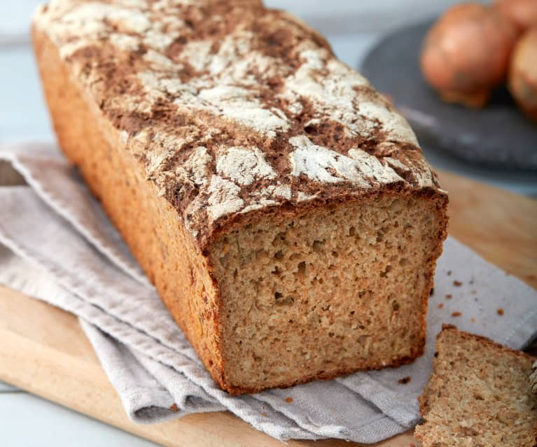 Zwiebel-Roggen-Brot