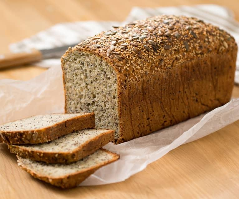 Pan de cinco semillas