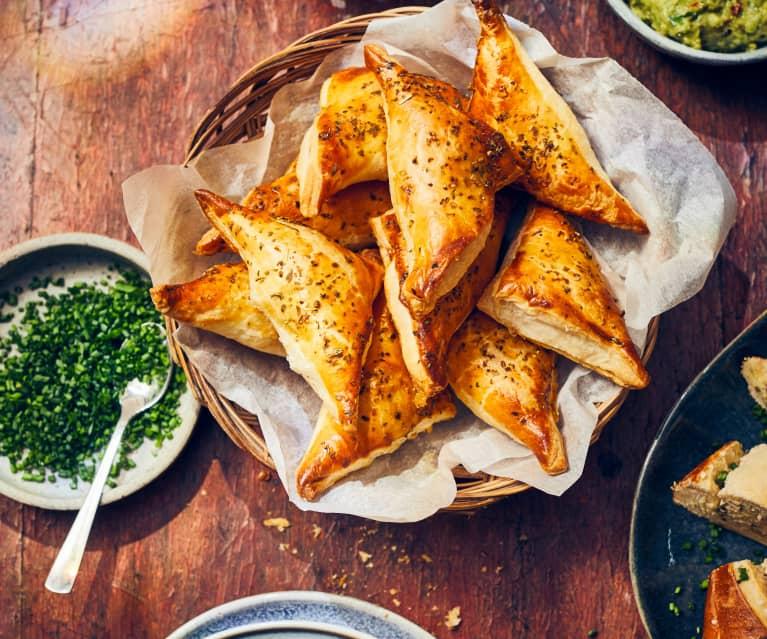 Thunfisch-Oliven-Täschchen