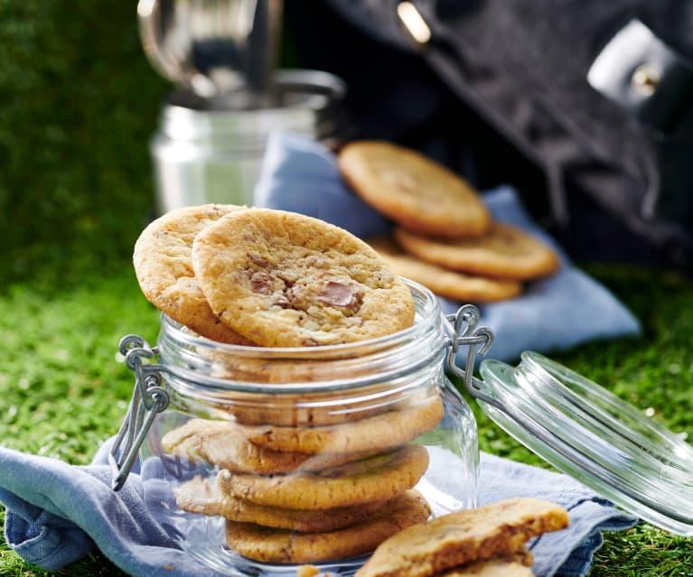 Milch-Schokoladen-Cookies