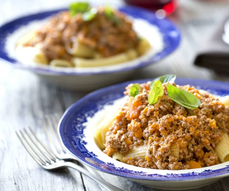 Bolognaise sauce for two