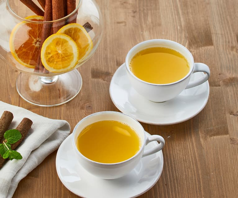 Tisana detox all'arancia e cannella