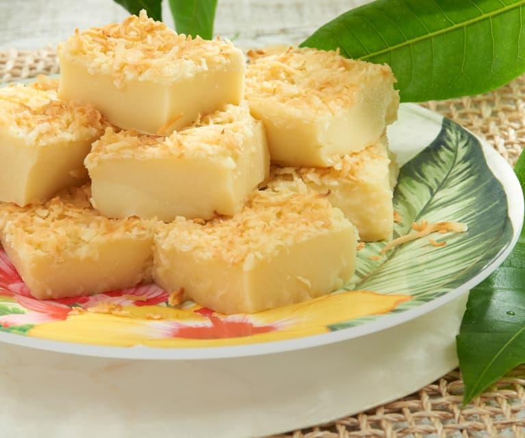 Hawaiian Mochi Cake