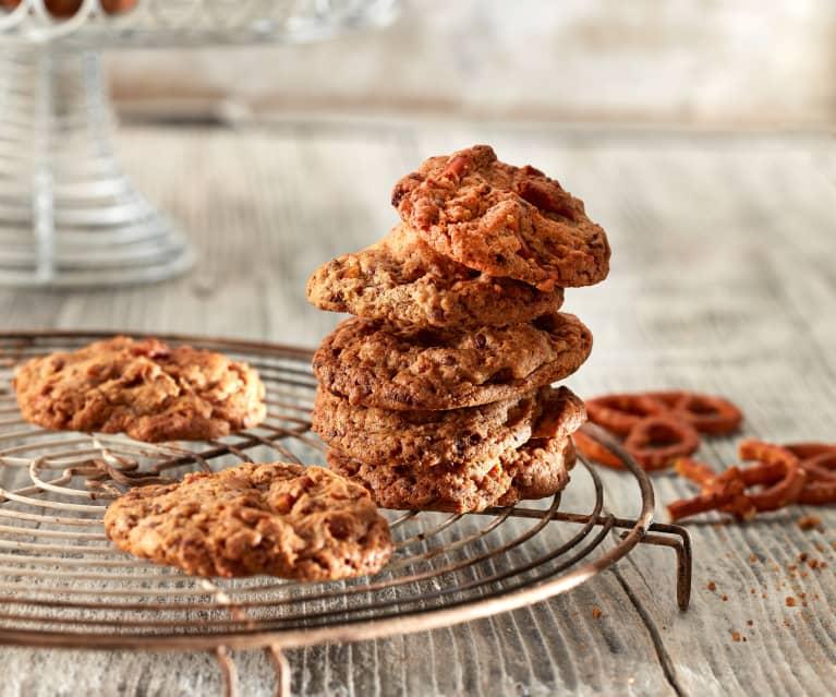 Cookies mit Salzgebäck