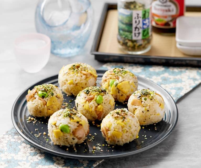 Teriyaki Chicken Rice Balls Cookidoo The Official Thermomix Recipe Platform