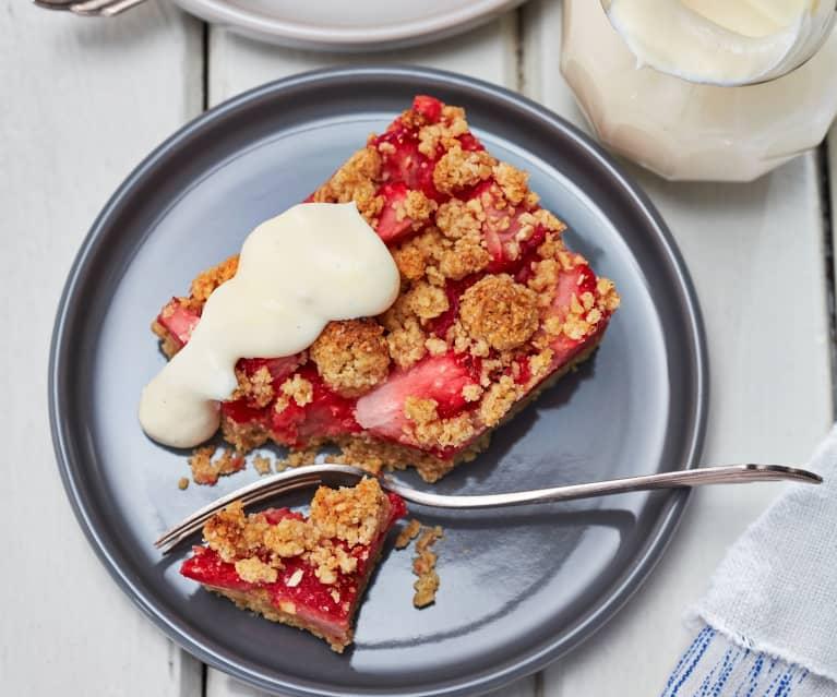 Erdbeer-Streusel-Schnitten