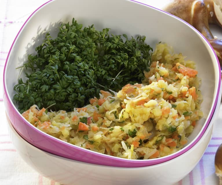 Sauerkraut-Kräuter-Salat