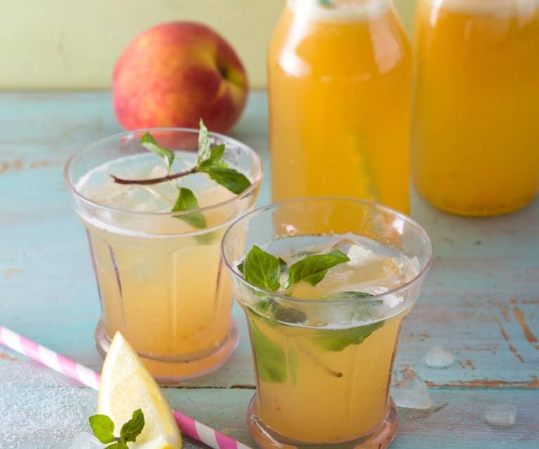 Pfirsich-Limonade