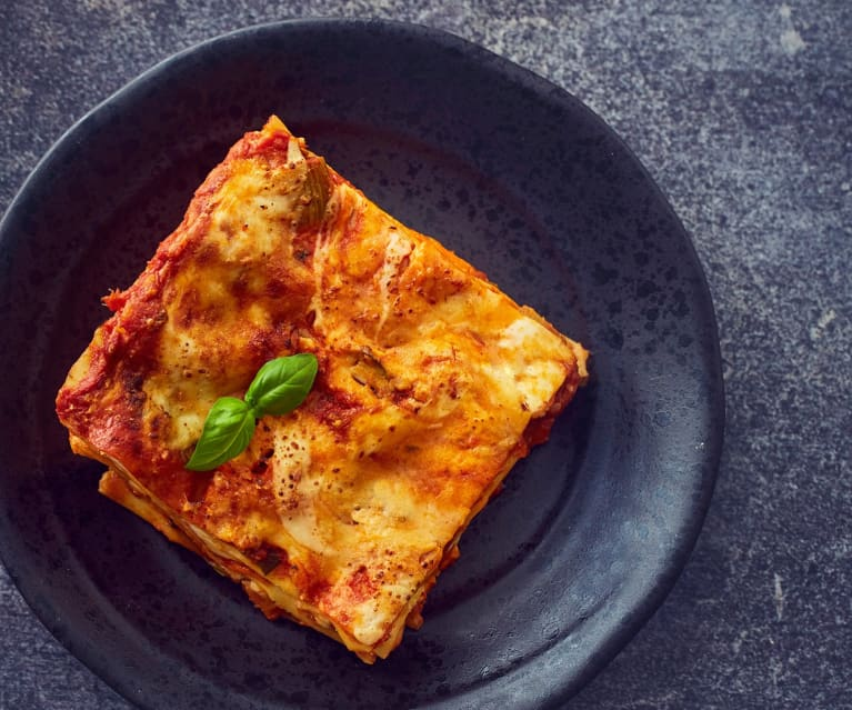 Lasagne with Vegetable Ragu