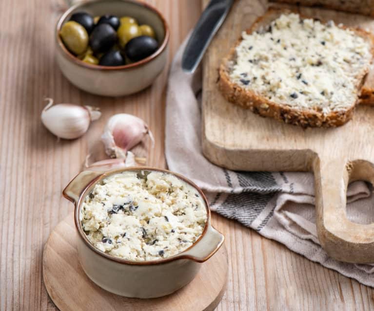 Masło czosnkowo-oliwkowe