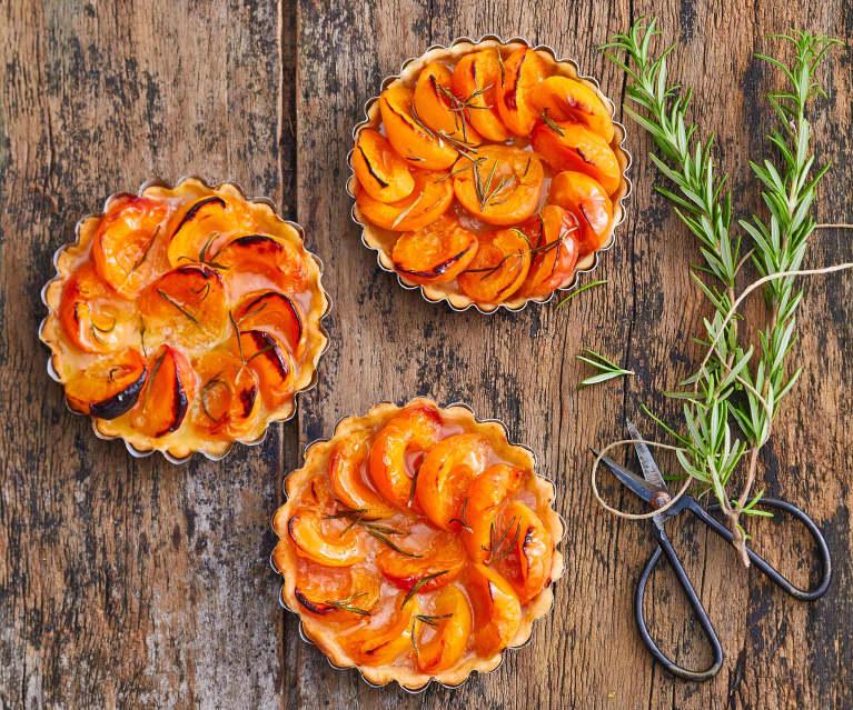 Tartelettes aux abricots et au romarin