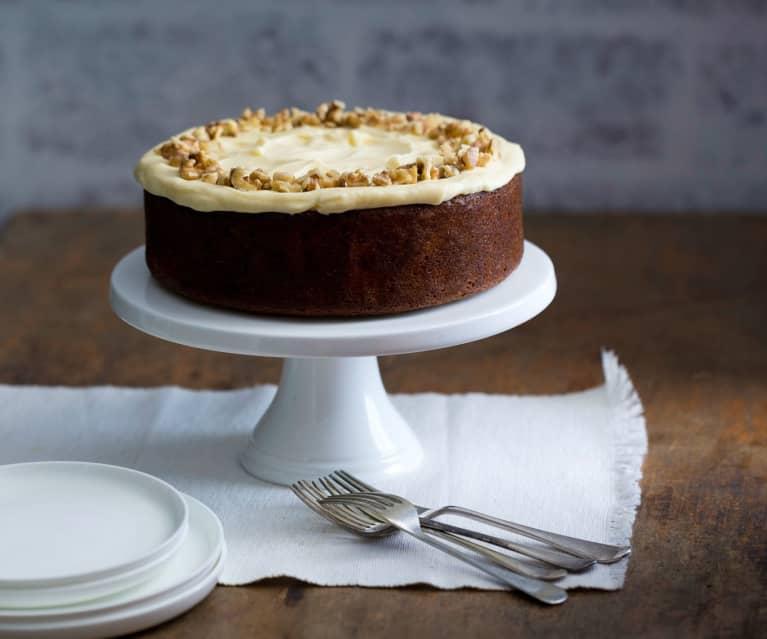 Brown sugar kumara cake