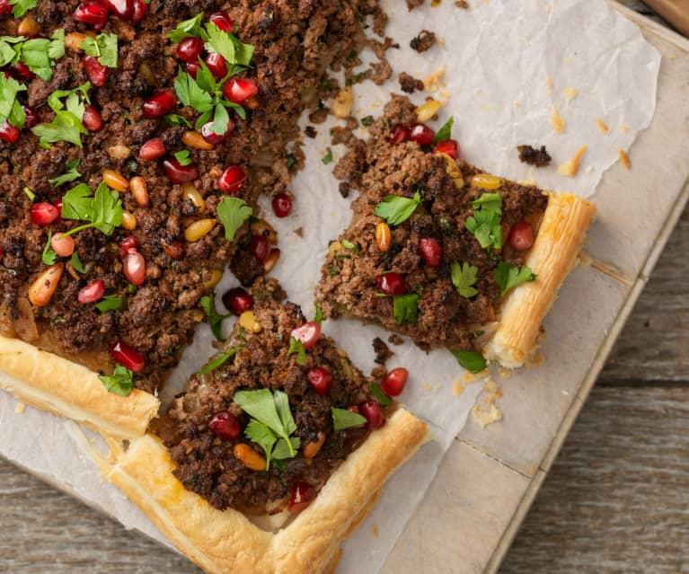 Tarta de hojaldre y cordero - Líbano