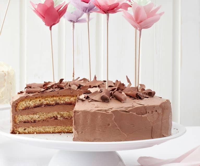 Nuss-Schoko-Torte