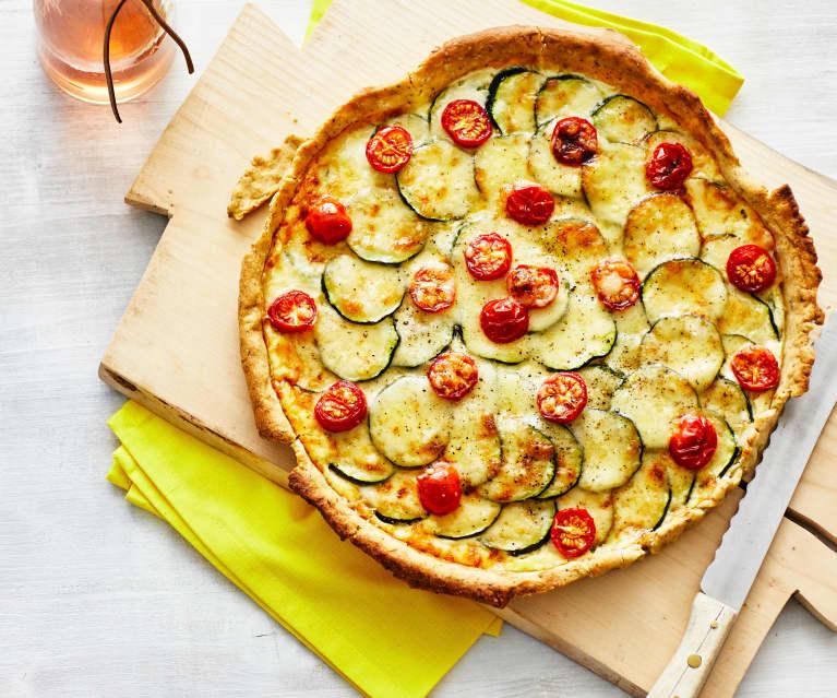 Französische Zucchini-Tarte