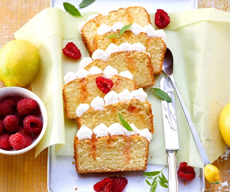 Zitronen-Poke-Cake
