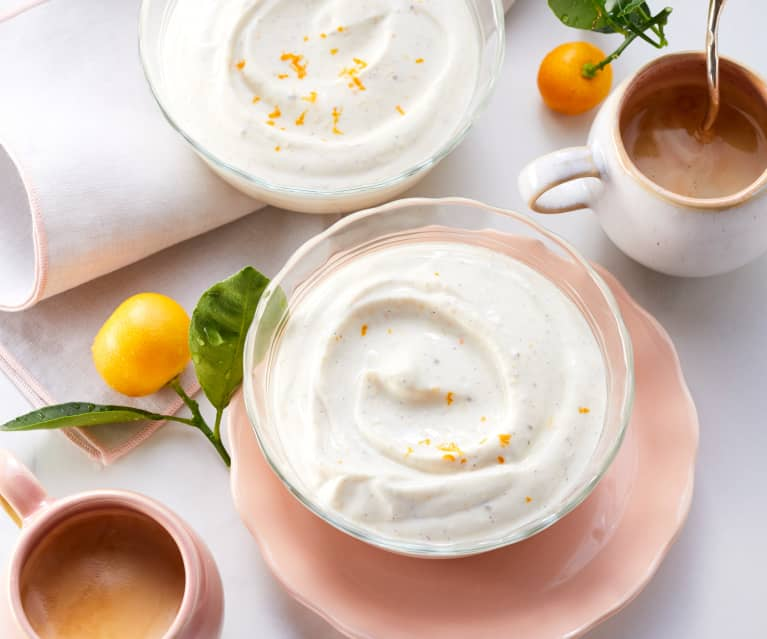 Vanille-Orangen-Creme (zuckerfrei)