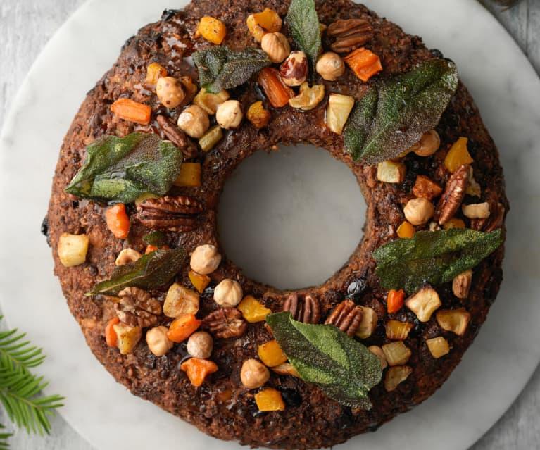 Festive Nut Roast Wreath