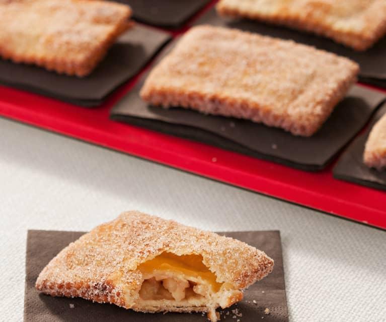 Pastelitos de manzana y canela