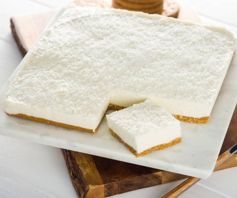 Cheesecake de coco sin horno