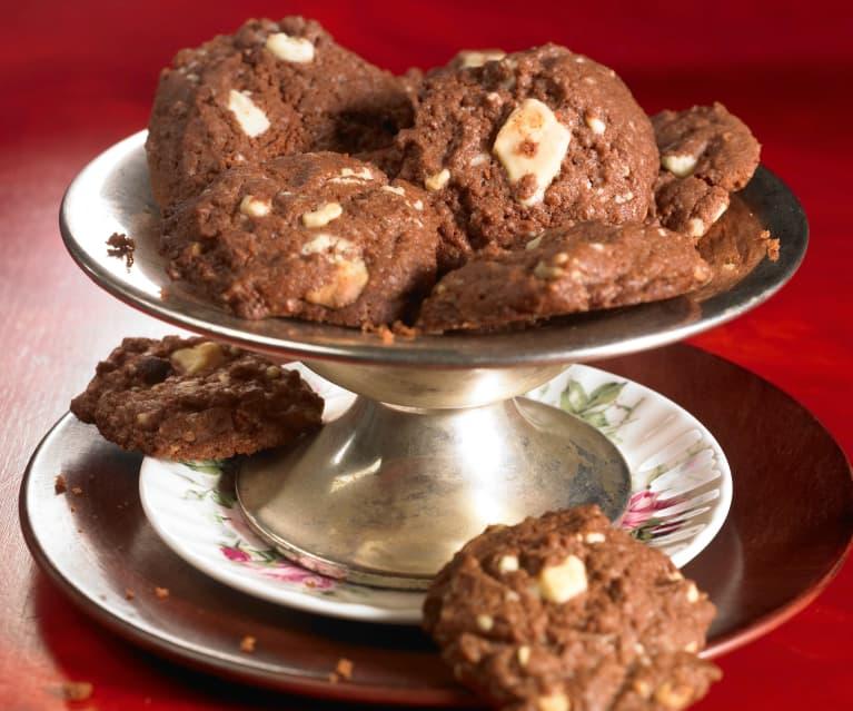 Weiße-Schokoladen-Cookies