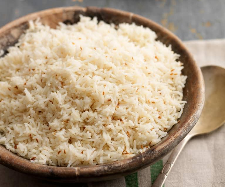 Kreuzkümmel-Reis