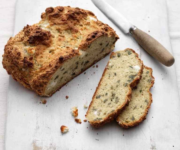 Soda Bread mit Feta