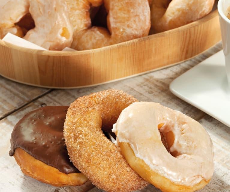 Rosquillas americanas (doughnuts)