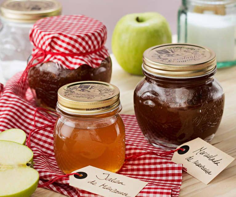 Mermelada y jalea de manzana