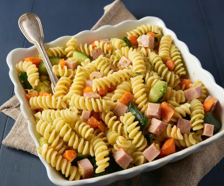 Ham and Veggie Pasta Salad