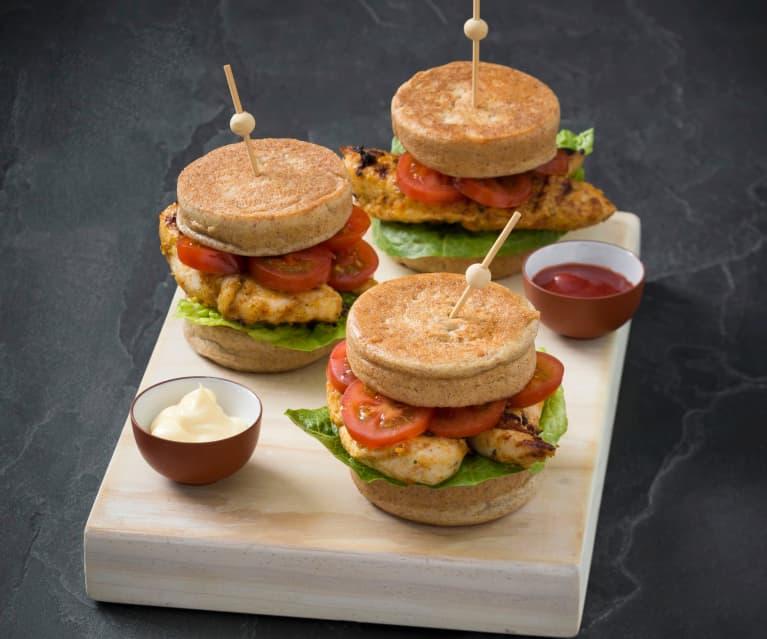 Low carb burger buns