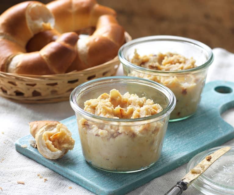 Bratapfel-Marzipan-Creme