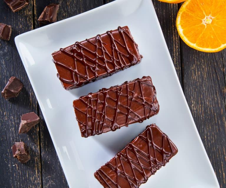 Tortine all'arancia e cioccolato
